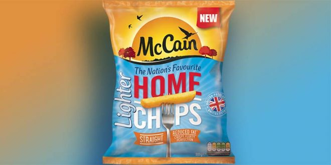 McCain's New Home Chips Contain 30% Less Fat - Potato Business